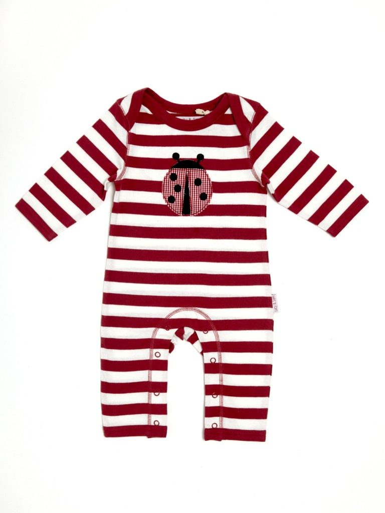 Lucy & Sam Applique Rompers - The Baby Duck